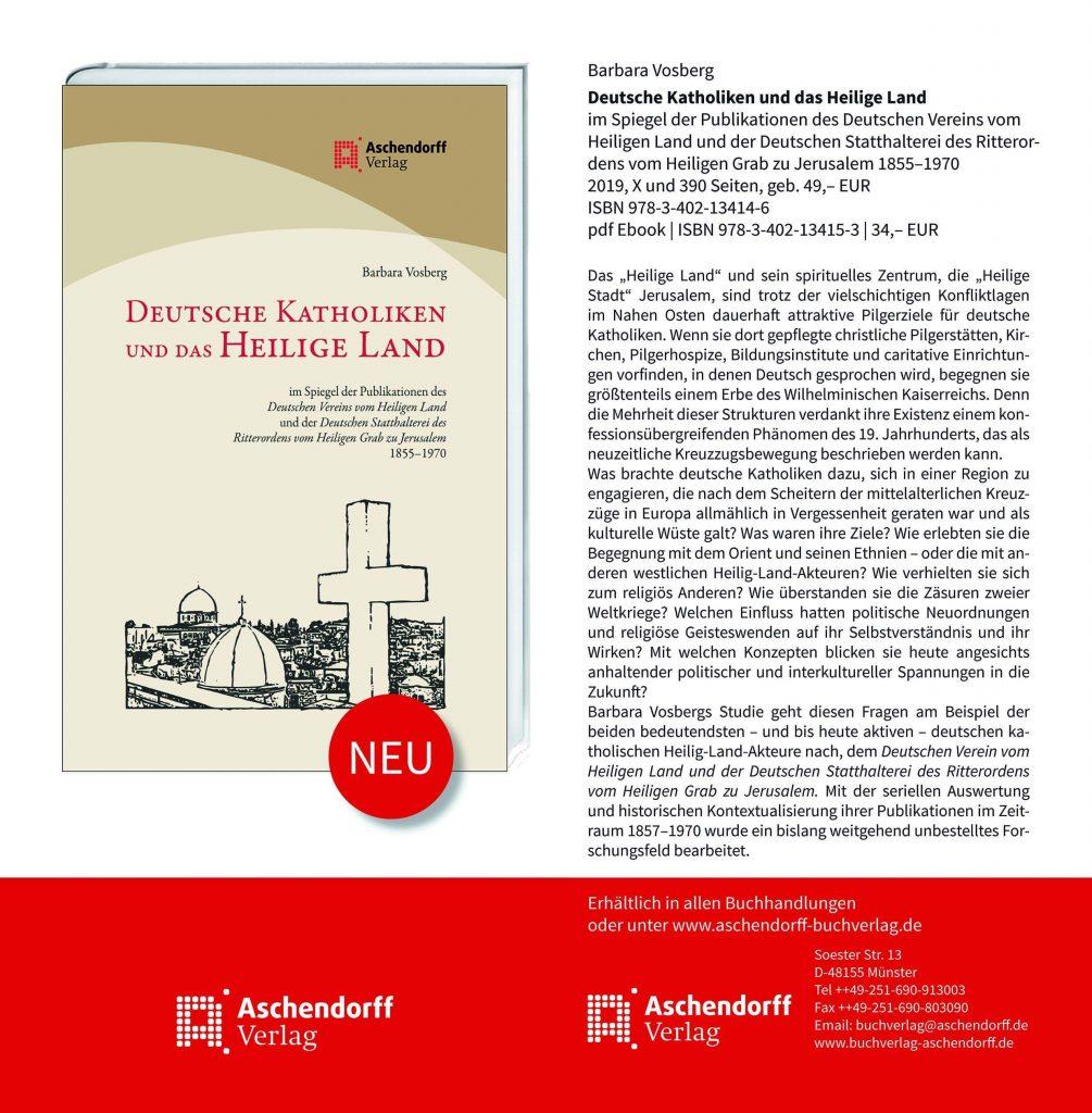 Deutsche Katholiken und das Heilige Land