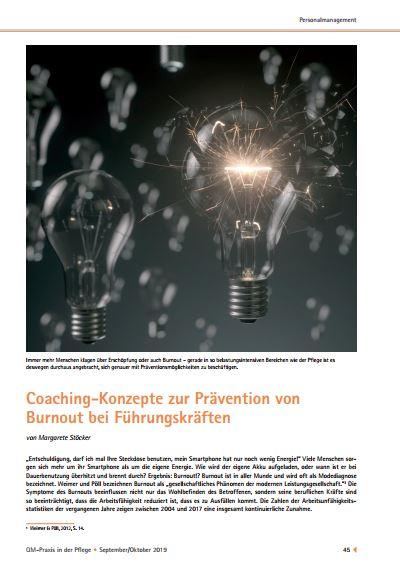 Coaching Fuehrungskraefte